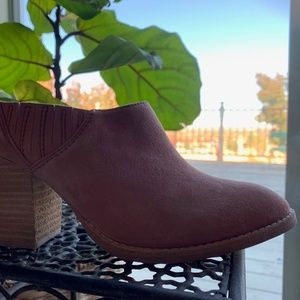 Jeffrey Campbell Rose Suede Mules